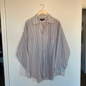 3/19🌽 Brooks Brothers Men's Striped Dress Shirt